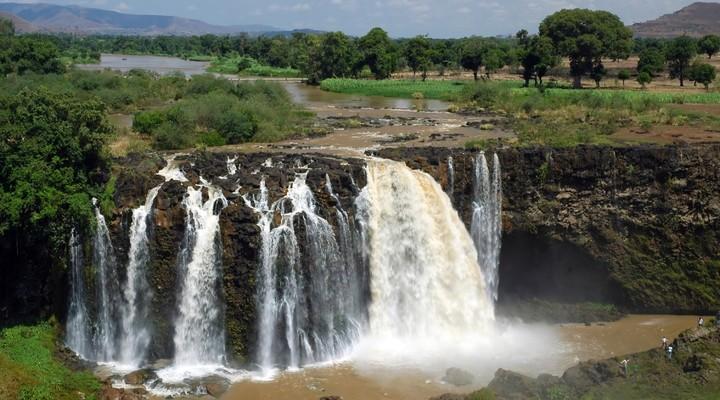 Watervallen Ethiopië