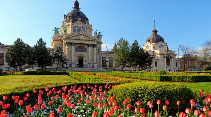 Szechenyi Spa in Boedapest
