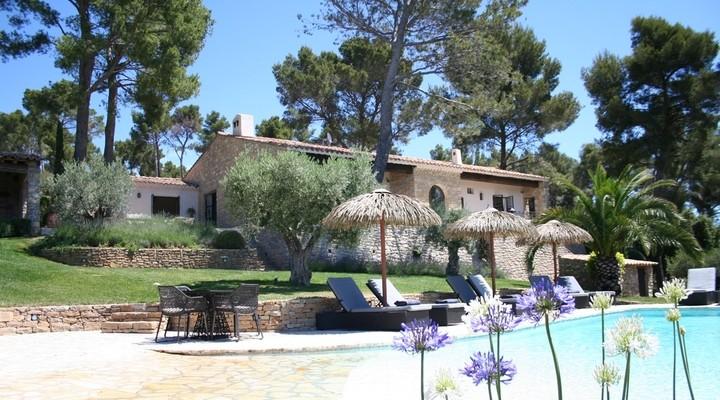 Een van de vakantiehuizen in Frankrijk
