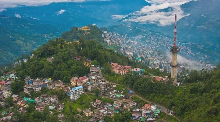 Gangtok in India