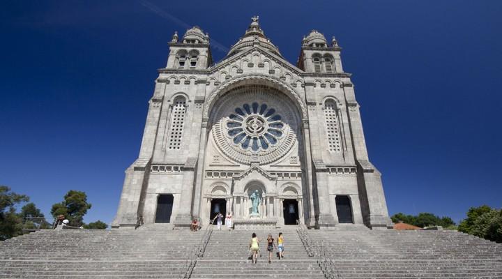 Santa Luza basiliek, Viana do Castelo, Portugal