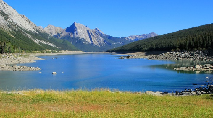 Medicine Lake, Jasper National Park Alberta