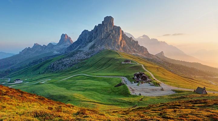 Landschap van de Dolomieten