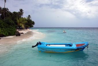 Motorbootje, Bandos, Malediven