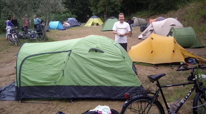 Overnachten op de camping in Oostenrijk