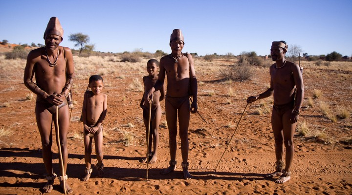 Bosjesmannen Zimbabwe