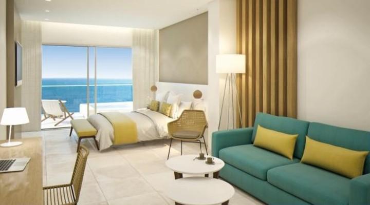 De moderne kamers van Riviera Playa