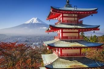 Een typisch beeld van Japan