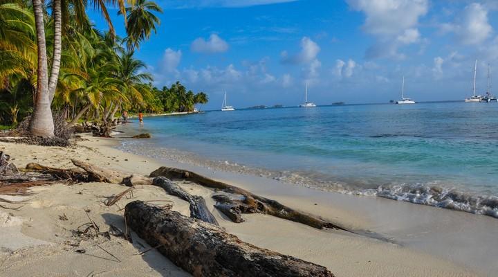 Strand San Blas eilanden, Panama