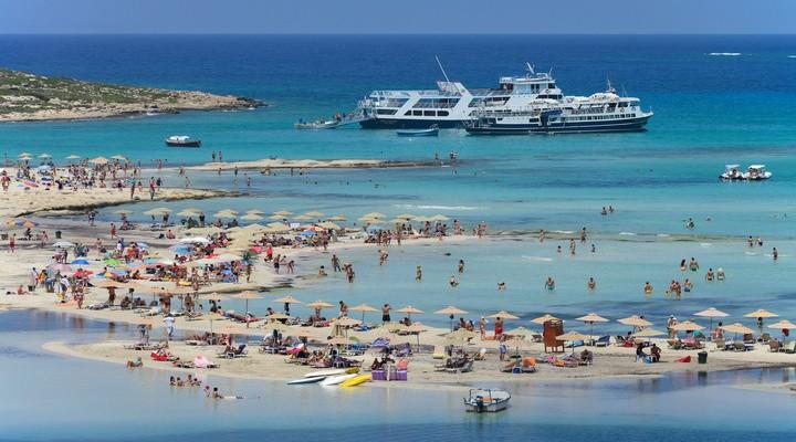 Balos Beach in augustus