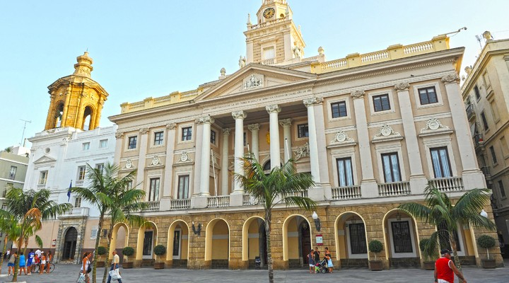 Stadhuis Cádiz - Spanje