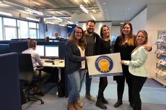 Sunweb wint Reisgraag Award 2018