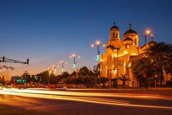 Maria Hemelvaart kathedraal in Varna