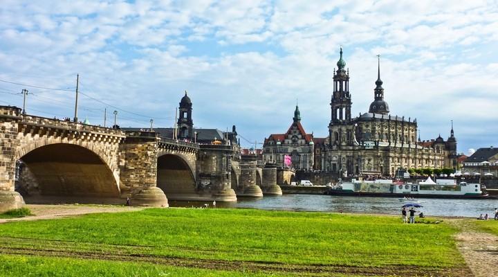Skyline Dresden, Duitsland