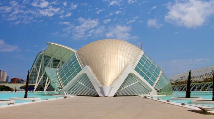 Nieuwe gedeelte van Valencia - Spanje