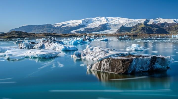 Het prachtige Jökulsárlón gletsjermeer
