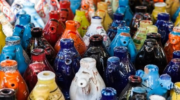 Typisch aardewerk uit Tunesië