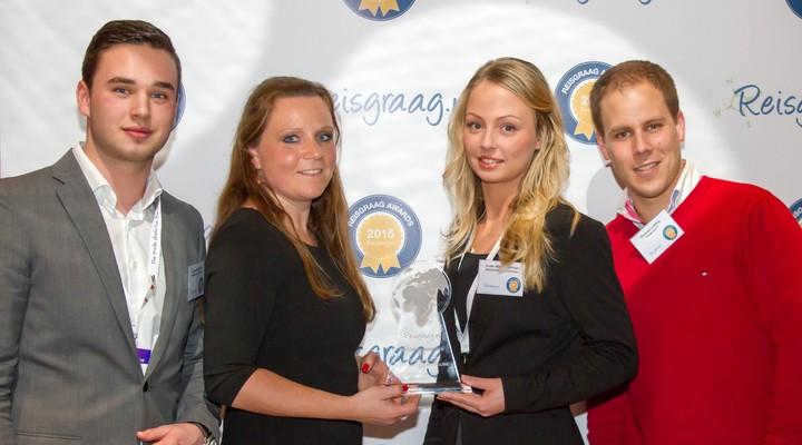 Bolderman Excursiereizen met Reisgraag award