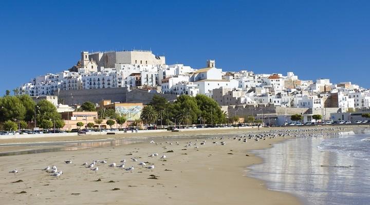 Strand van Peñíscola - Spanje