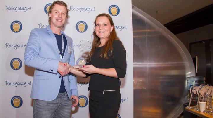 Activity International met award Reisgraag.nl