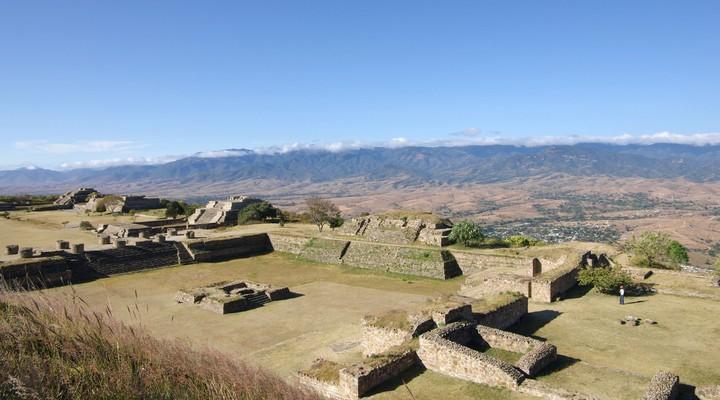Archeologische site Monte Alban