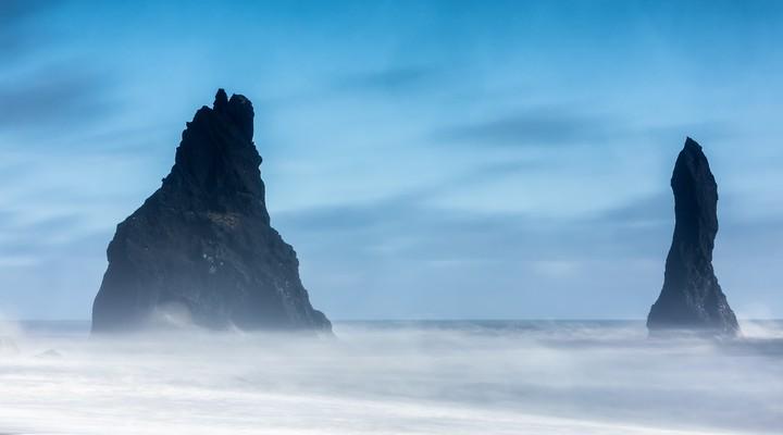 de rotsen bij Vik