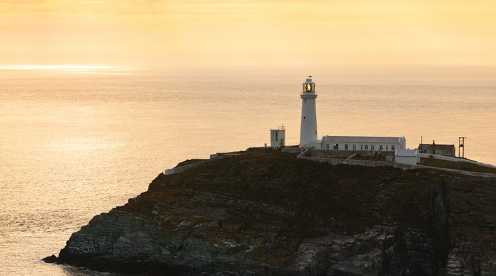 South Stack Vuurtoren in Holyhead - Wales