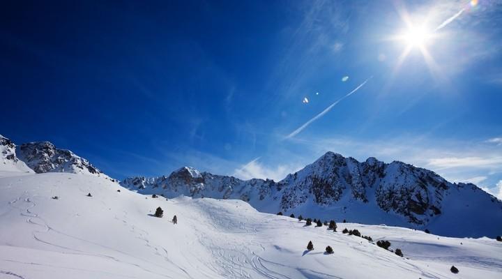 Soldeu skidorp Pyreneeen Andorra