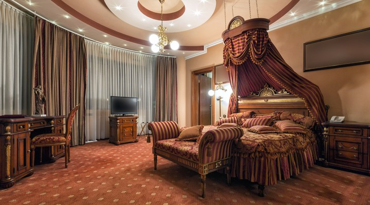 Luxe hotelsuite