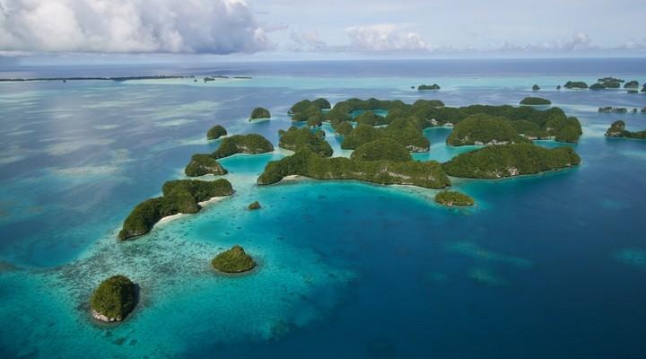 Eilanden bij Micronesia