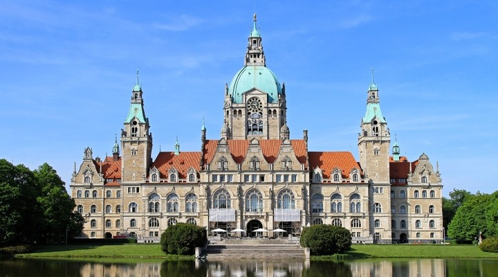 Raadhuis Hannover Duitsland
