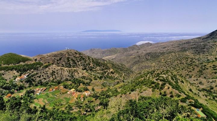 Landschap Alojera - La Gomera - Spanje