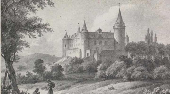 Château van Vêves getekend