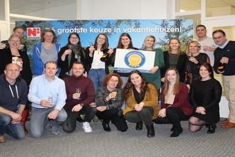 Novasol wint Reisgraag Award 2018
