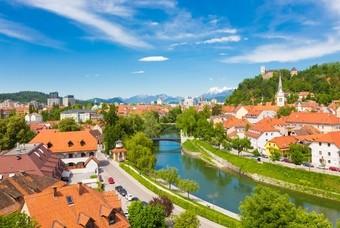 Ljubljana, Slovenië