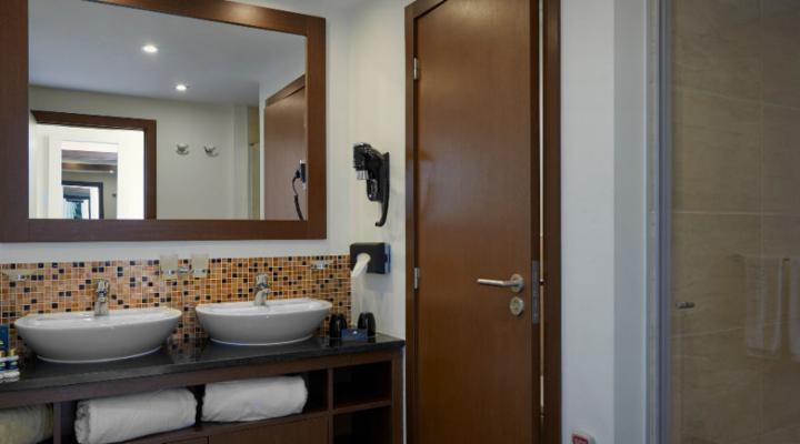 Badkamer van Tweepersoonskamer Deluxe