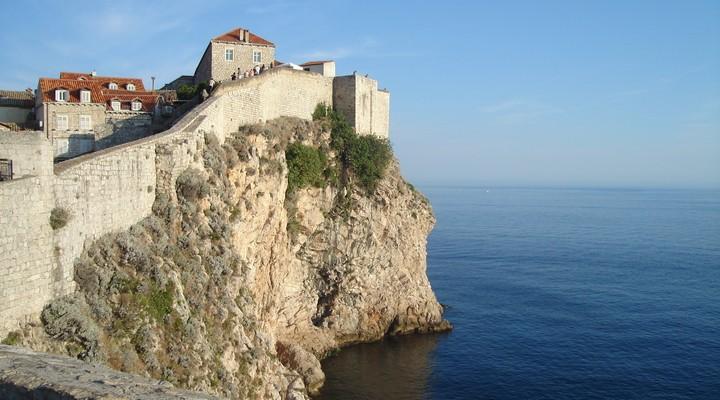 Kroatische kust bij Dubrovnik