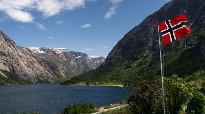 Hardangerfjord Noorwegen