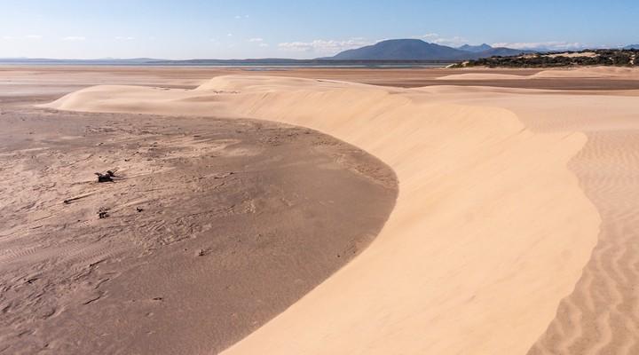 Woestijn in het zuiden van Madagaskar