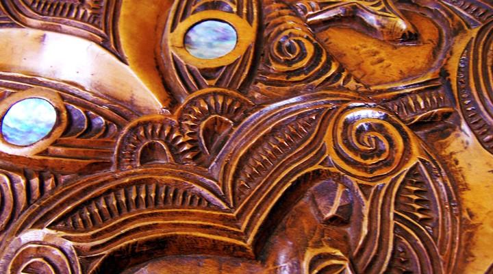 Maori kunst in Nieuw Zeeland