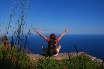 Solo wandelreis aan de Amalfikust