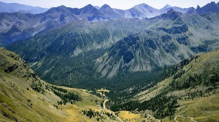 Col du Galibier, Les Routes des Grandes Alps