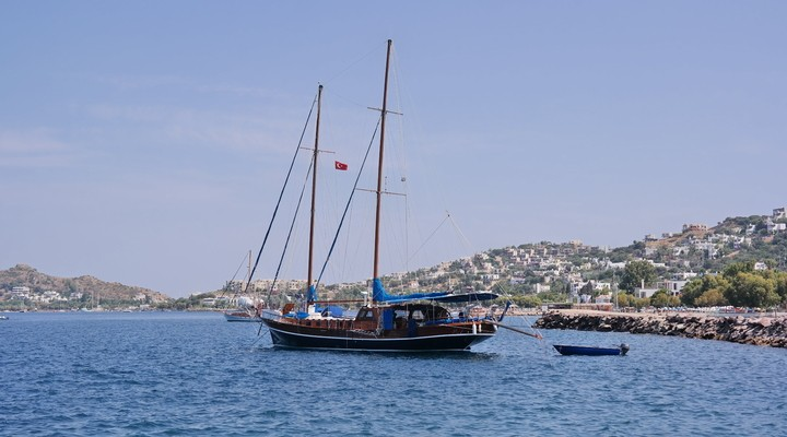Boot in Bodrum