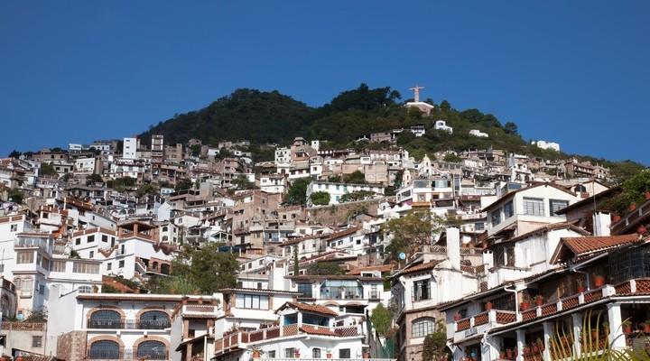 Zilverstad Taxco met de witte huizen