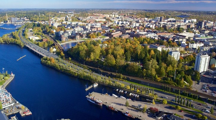 Tampere jachthaven Finland
