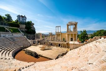 Romeinse theater van Plovdiv