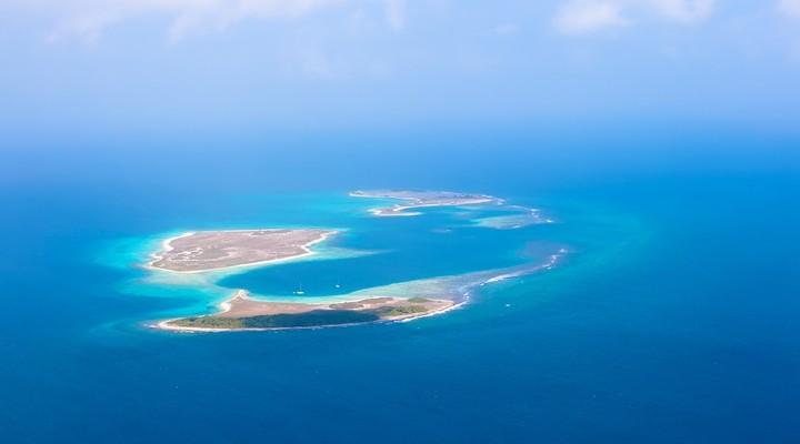 Eilanden van archipel Los Roques
