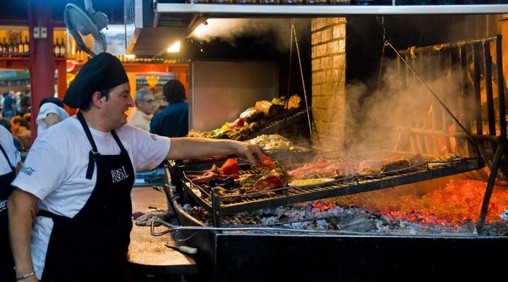 Barbecuerestaurant in Montevideo