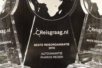 Pharos Reizen is de beste aanbieder van autovakanties