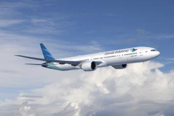 Garuda Indonesia vliegt als eerste non-stop naar Jakarta